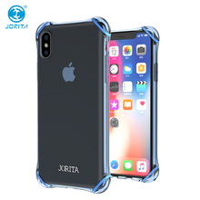 Best Selling Mobile Accessories Anti-shock TPU TPE Bumper Phone Case For iPhone X
