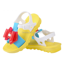 KS30174C Fancy princess children pvc sandals cute little girls summer shoes