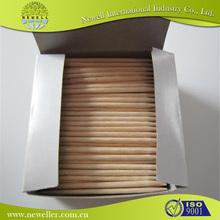 one point customized paper box packing wooden toothpick in various jars