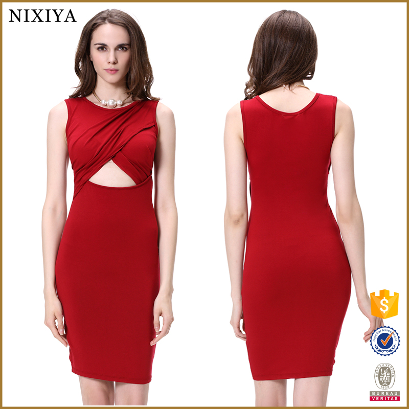 Sexy Bodycon Hollow Out Fashion Women Evening Dresses