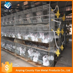 Cheap Rabbit Farming Cage, Industrial Cage for Rabbit ,Commercial rabbit cage in Kenya farm