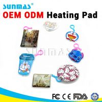 Sunmas OEM ODM Magic Reusable Heating pad FDA CE heating pad for head