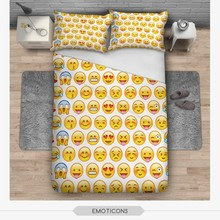 fashion green forest 3D print bedding set soft home textile four season collection colorful print funny animal children printing