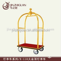 stainless steel birdcage baggage cart (X-110)