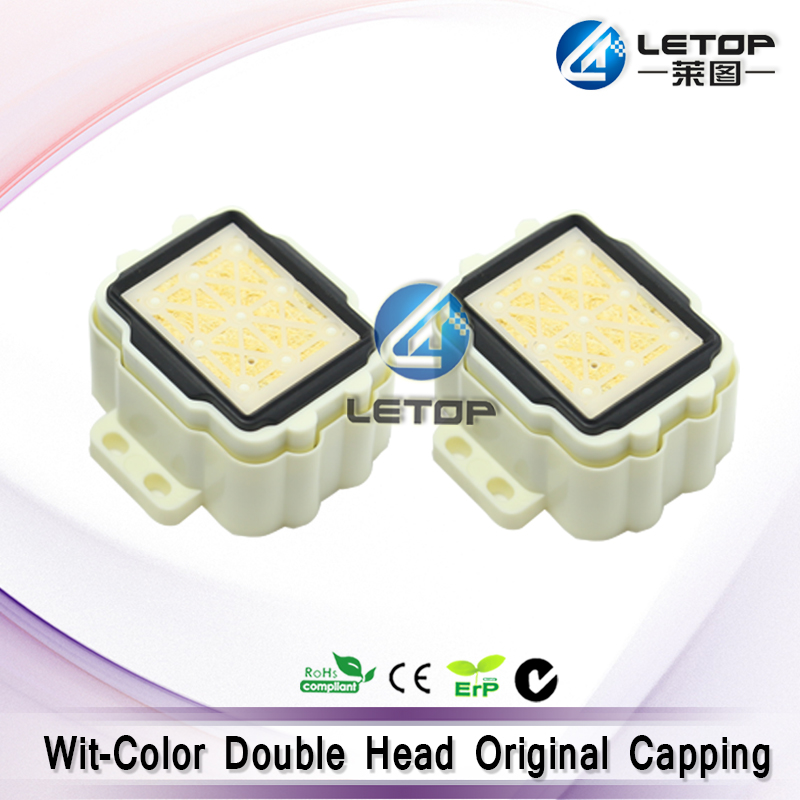 Original wit color ultra cap station eco printer dx5 double head capping station
