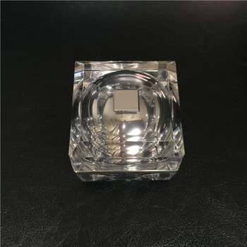 New design Square crystal series cosmetic packaging