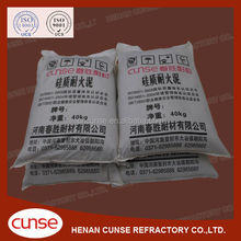 High Refractoriness Silica Refractory Cement for Repairing Furnace