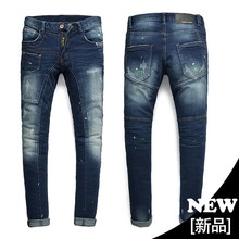 2015 new brand men's jeans wholesale spot can be customized