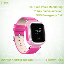 GPS smart watch with realtime tracking, kids gps watch phone Q60