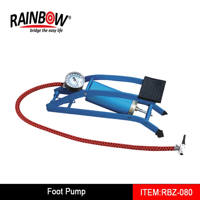 Best selling RBZ 080 Foot pump for bike and car