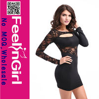 black 2014 celebrity bandage dress wholesale