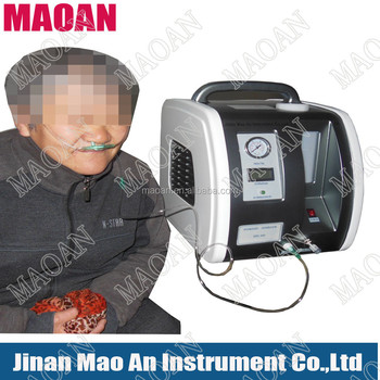 Oxygen Concentrator portable price, breath O2 and H2 at same time