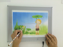 Ultra thin LED Drawing Tablet Writing Copy Board for educational use