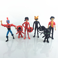 OEM high quality Cartoon characters sets plastic figures toy China factory