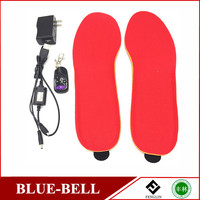 Remote Control electric heated shoes insole,rechargeable heat insole