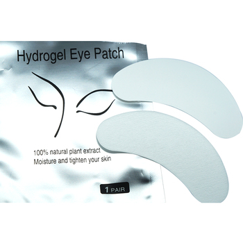 Wholesale disposable thick eyelash extension lint free eye pads manufacturer