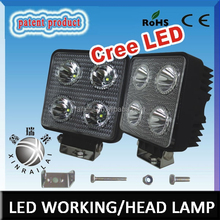 New products Factory price waterproof ip68 square 40w cree led work lamps for jeep
