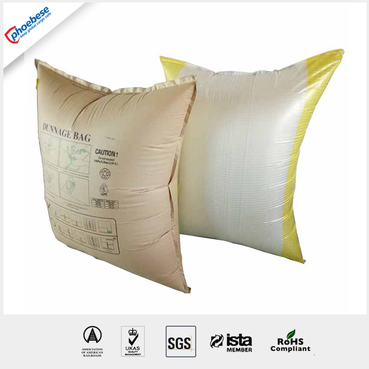 recycle pp woven packaging dunnage bags/shock-proof and light weight for containers