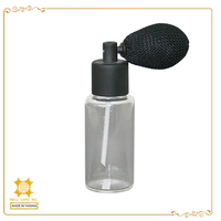 Sex spray black simple useful long time empty refill perfume atomizer spray bottle