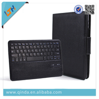 Christmas gift wireless bluetooth keyboard pu leather case for ipad air with stand function