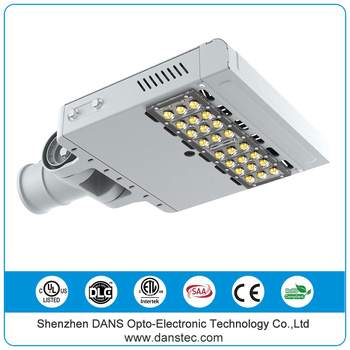 Short time delivery aluminum IP65 UL DLC ETL SAA CE ROHS led outdoor lighting street