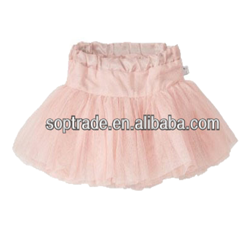 Children tulle short skirts summer wear kids baby girls tutu skirt
