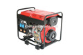 3kw 5kw 6kw silent small air cooler portable diesel generator with welding