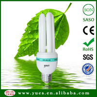 widely use high performance 2U shape energy saver lamp china manufacturer