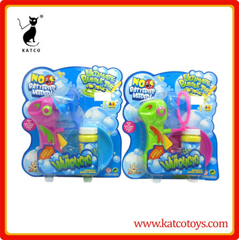 Non-toxic friction power bubble blowers machine