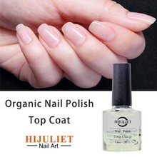 Hijuliet, 2016 New Organic/Natural Raw Material Nail Polish Clear Oil Top Coat