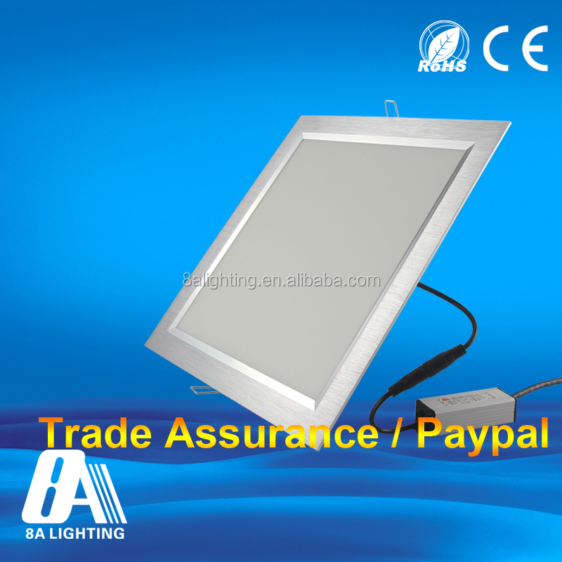 36w 40w 50w slim square led panel light , Good price for recessed led ceiling light 60x60