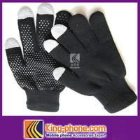Acrylic adhesive materials touch winter warm gloves for iphone