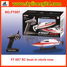 In stock Feilun new item FT007 2.4G high speed boat brushless rc boat motor racing boat