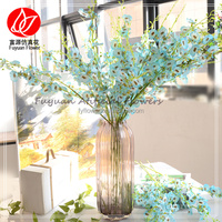 Top level new arrival artificial blue orchids