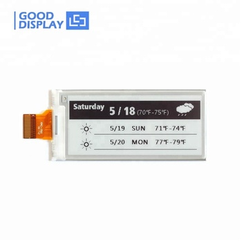 E good display B/W 2.9 inch 3 inch epaper e-ink display spi