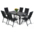 Popular Morden Style Cheap Price Garden furniture Sling dining set