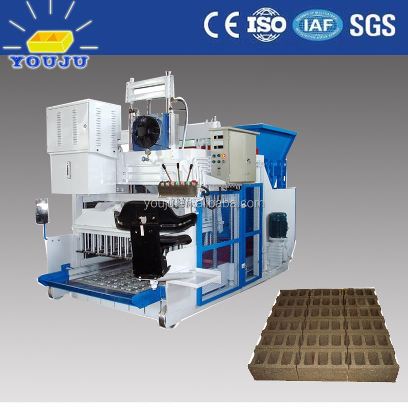 QMY18-15 long working life lowest price egg laying concrete block making machine Africa