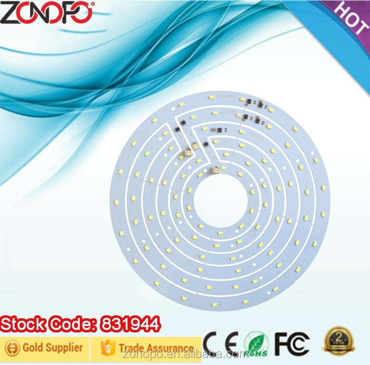 zonopo 48w high power ac motor ac engine led pcb smd5730 ceilling light chip on board led