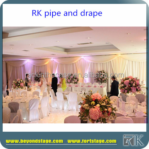 used pipe and drape for sale/wedding backdrop/ceiling drapery for wedding party events