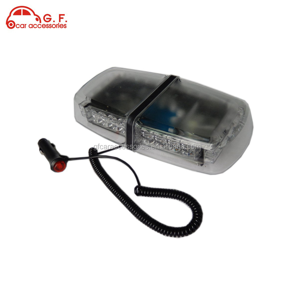 24 led car roof top emergency beacon warning 24 volt strobe light