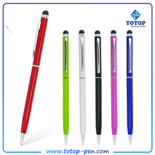 Multi-function promotional touch screen stylus metal ball point pen