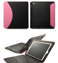 Two-tone Ultrathin Keyboard Leather Cover Case for iPad air/ 2