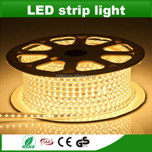 5050 smd led strip 60led AC220V flexible led strip light led light