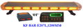 Hot selling Police LED Warnig Light Bar, ,Emergency LED Strobe Light bar(KF-BAR-E207L,120CM),3W Linear LED,,with controller