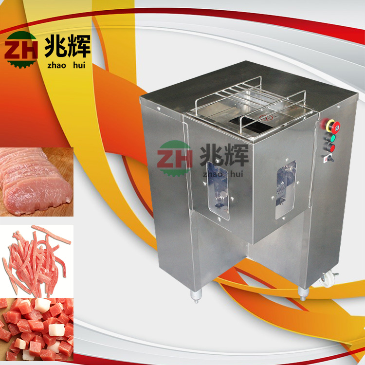Factory new Stainless Steel Chicken Meat Slicer frozen beef cube cutting machine