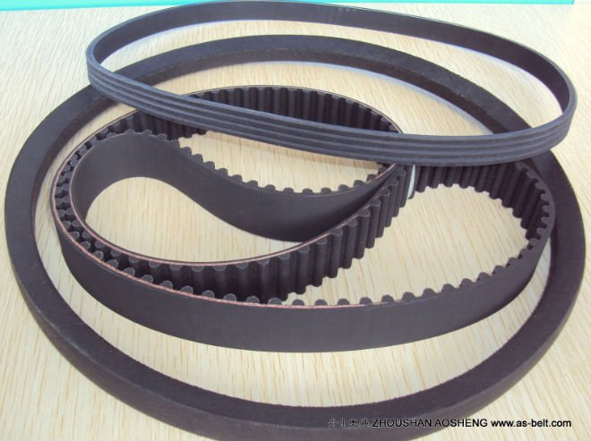 Rubber Wrapped V Belt for Transmission System