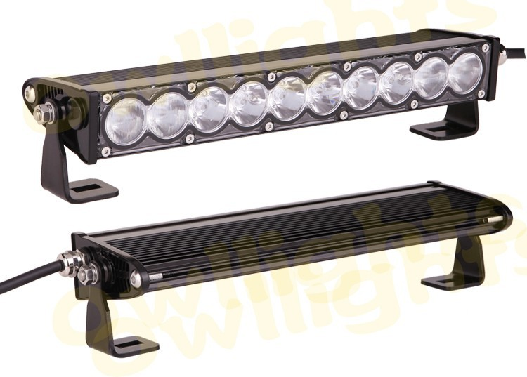 Hot and cheap led worklight Single Row 4x4 10 inch 50w led light bar for tractor offroad