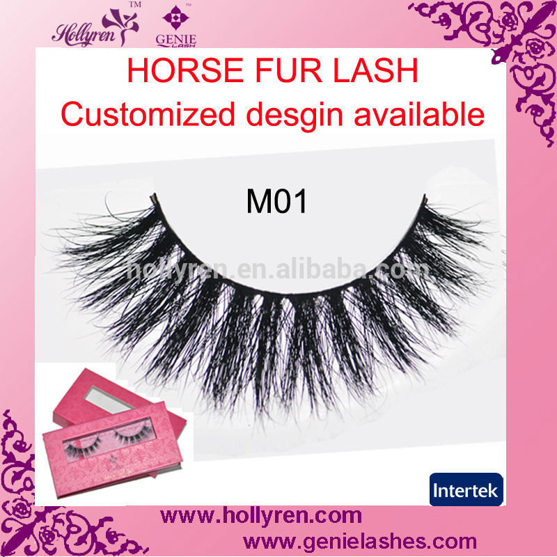 Hollyren Angel's Wings 2015 Luxury Natural Fluffy Silk 3D Fake Eyelashes
