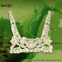 machine embroidery neck lace designs Adjust by collar