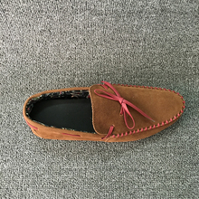Casual Man PU Upper Material and Men Gender Suede moccasin shoe